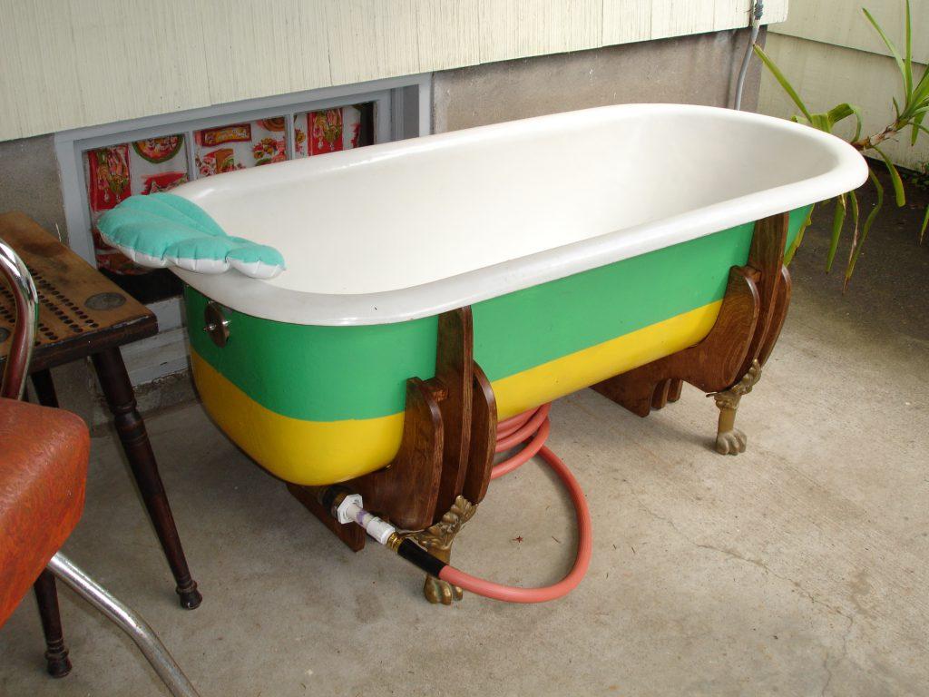 tub open