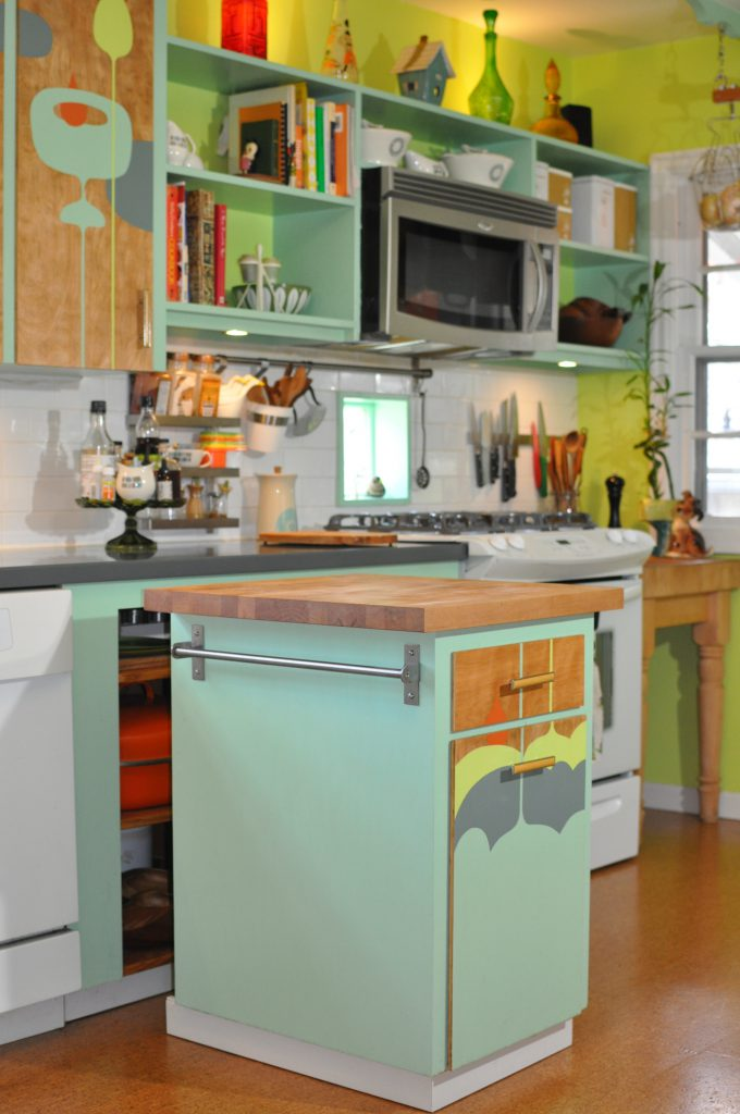 image of remodeled kitchen