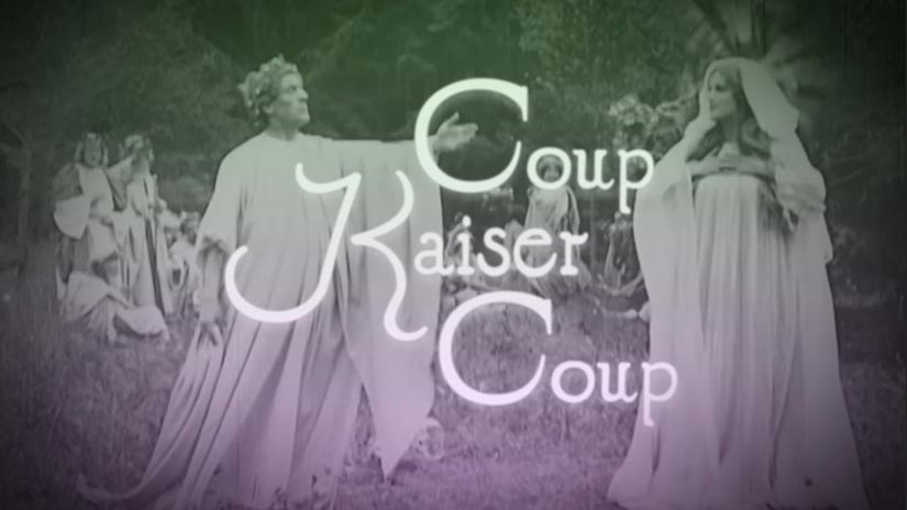 Title Card for Coup Kaiser Coup Video